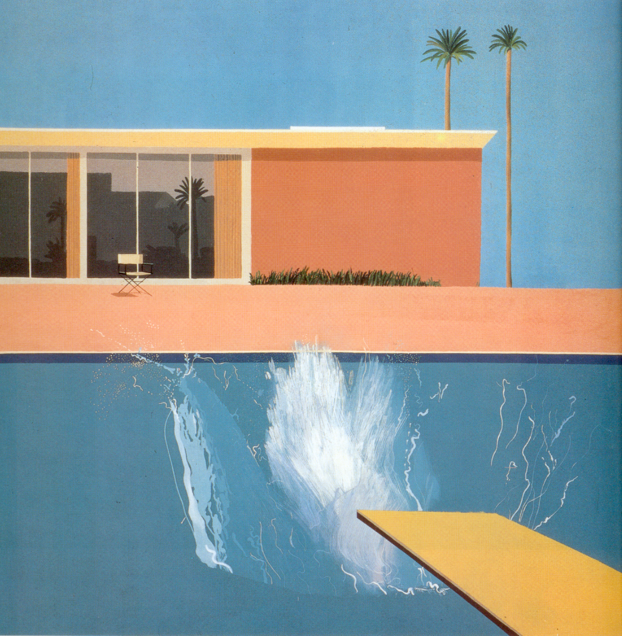 David Hockney A Bigger Splash